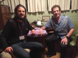Jimmy Petruzzi and Jeffrey Zeig